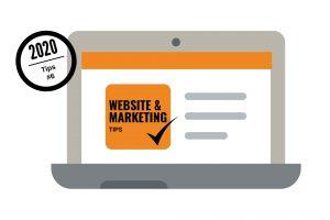 Dé 6 website- en marketingtips voor 2020